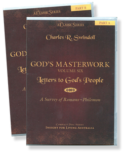 God's Masterwork, Vol 6: Letters to God's People - A Survey of Romans to Philemon.   13 CD Series