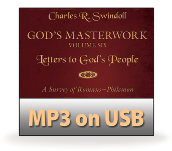 God's Masterwork Vol 6: Letters to God's People - A Survey of Romans to Philemon.   13 MP3 on USB Series