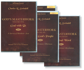 God's Masterwork, NEW TESTAMENT, Vols 5-7 Matthew to Revelation.  28 CD Series Set