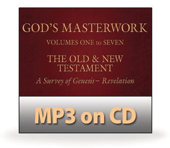 God's Masterwork Complete Series, Volumes 1-7.  68 MP3 on 4 CDs