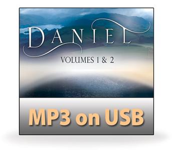 Daniel Volumes 1 & 2.  18 MP3 on USB Series