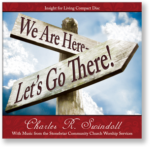 We Are Here - Let's Go There.  CD