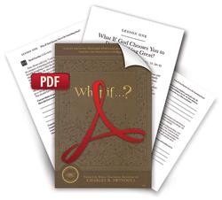 What if ...?  Bible Companion.  Downloadable PDF