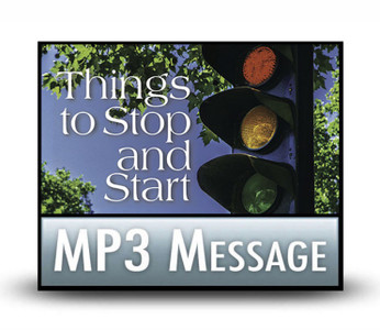 Things to Stop and Start:  02  Stop Procrastinating and Start Following Through.  MP3 Download