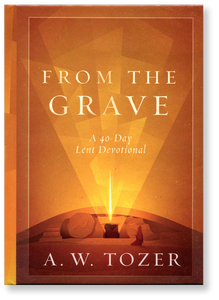 From the Grave: A 40-Day Lent Devotional.  Hardback Book