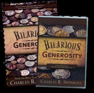 Hilarious Generosity. 5 CD Series & Bible Companion