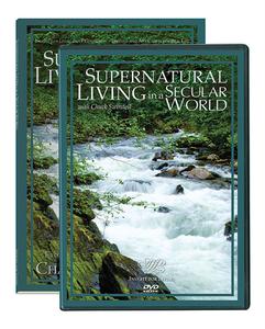Supernatural Living in a Secular World.  2 DVD Series & BC