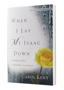 When I Lay My Isaac Down.  Paperback Book