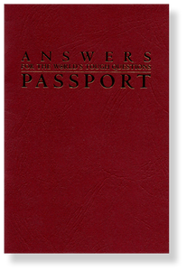 Answers to the World's Tough Questions Passport