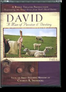 David: A Man of Passion & Destiny, Part 1 Radio Theatre Production.  2 CD Series
