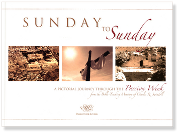 Sunday to Sunday: A Pictorial Journey Through the Passion Week.  Paperback Book