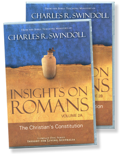 Insights on Romans: The Christian's Constitution Vol 2 .  22 CD Series