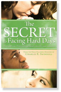 The Secret to Facing Hard Days.  Paperback Book