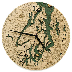 Puget Sound Wall Clock