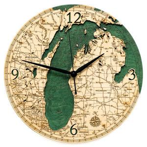 Lake Michigan Clock