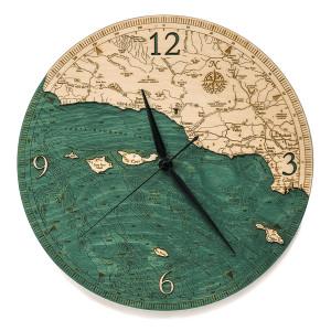 Santa Barbara/Channel Islands Wall Clock
