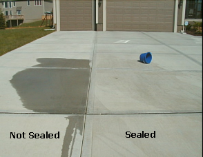Concrete Sealer Concentrate Salt Defense Technology
