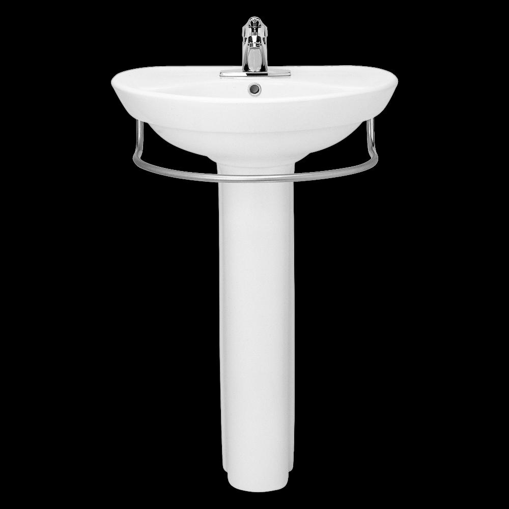 American Standard Ravenna 24 Inch Pedestal Lavatory Sink with Towel ...