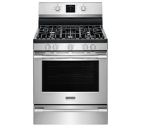 """Frigidaire Professional 30"""" 4 Burner Freestanding Gas Stove in Stainless (61FR-FPGF3077QF)"""