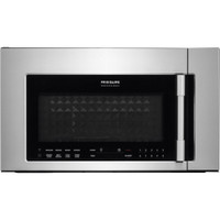 """Frigidaire Professional 1.8 Cu. Ft. 30"""" 2-in-1 Over the Range Convection Microwave in Stainless (62FR-FPBM3077RF)"""