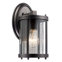 Active Home Centre Sepulveda 1 Light Wall Sconce in Black