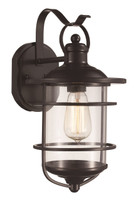 Active Home Centre 1 Light Wall Sconce in Oil Rubbed Bronze
