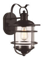 Active Home Centre 1 Light Wall Sconce in Oil Rubbed Bronze (30TG-50372-ROB)