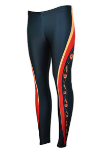 Surfs Up Moisture Management Legging - Heat