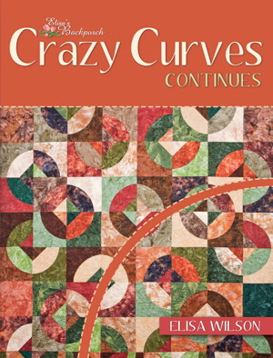 Crazy Curves Continues Quilt Book Cover