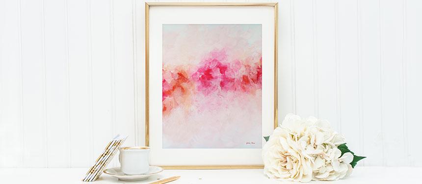 framed printable art by Julia Bars
