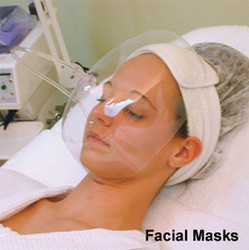 Full Face Masks for Oxygen Beauty Applications