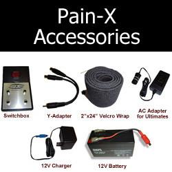 Pain-X Accessories - Batteries, switchboxes, etc.