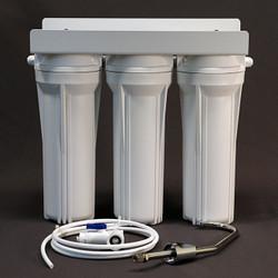 Three Stage Under Counter Water Filter