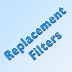Five Stage Quad Ultraviolet Whole House Replacement Filters