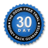 odor free guarantee seal