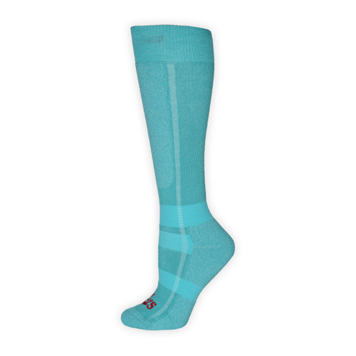 Women's Classic Mid Volume Socks - Ocean Heather