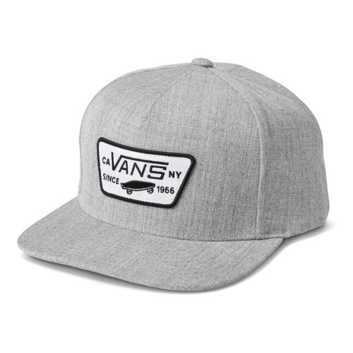 Full Patch Snapback - Heather Grey