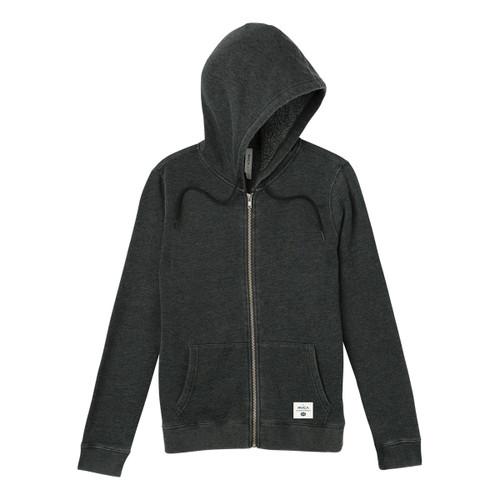 Label Burnout Fleece - Charcoal