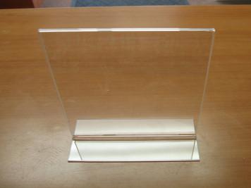 Bottom Load Sign Holder - 6 Pieces