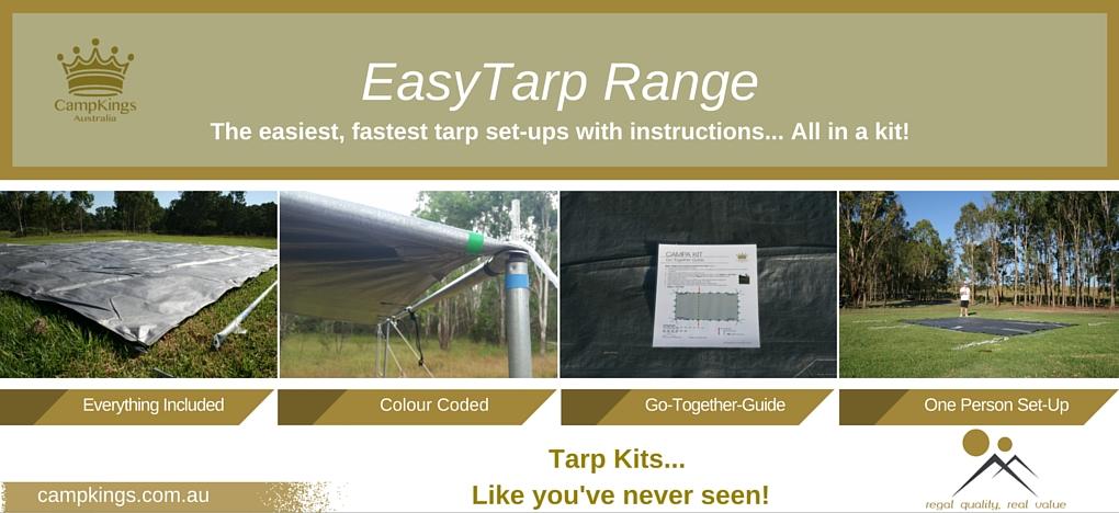 EasyTarp Range | CampKings Australia