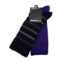 Twin Pack Purple Socks