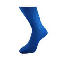 Michel Rouen Socks Blue Cotton