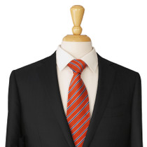 Orange Silk Necktie