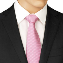 Pink Dotted Tie