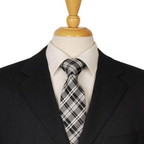 Checked Necktie