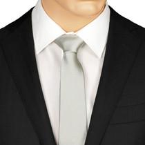 Skinny Silver Ties
