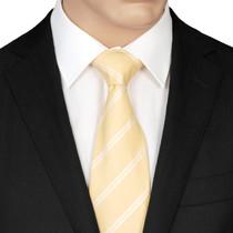Lemon Silk Tie