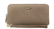 Taupe Phone Wristlet