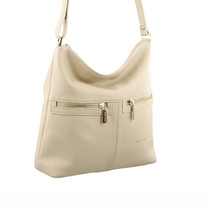 Pierre Cardin Bone Shoulder Bag
