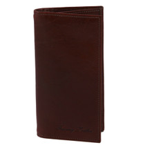 Brown Leather Coat Wallet